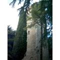 Il campanile della vecchia chiesa di San Venanzo