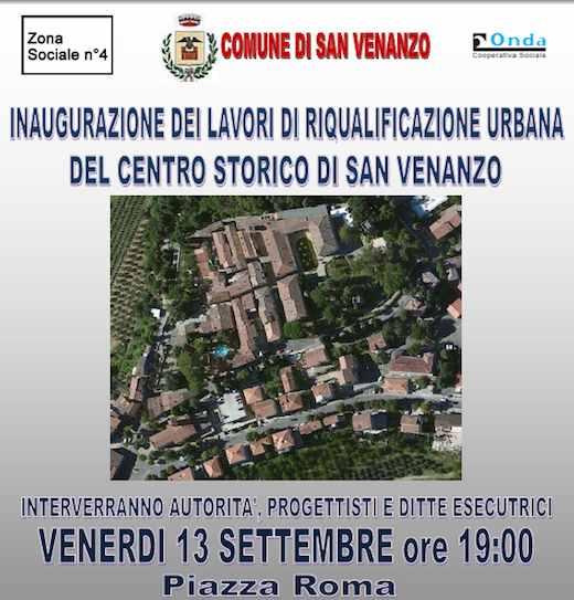 Riqualificazione urbana centro storico di San Venanzo