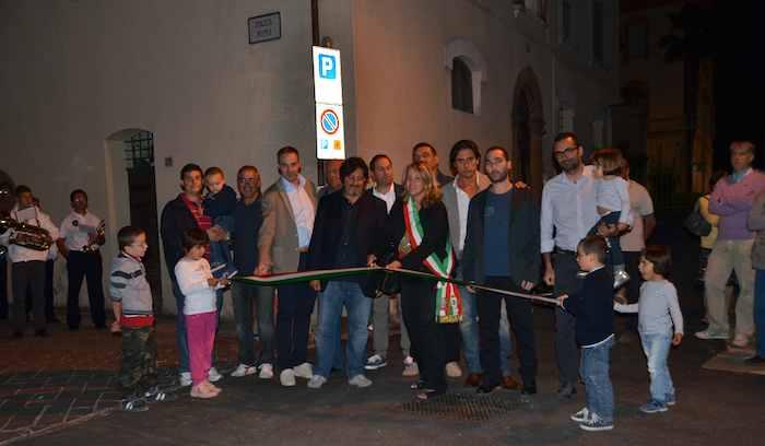 Inaugurazione lavori di riqualificazione del centro storico di San Venanzo