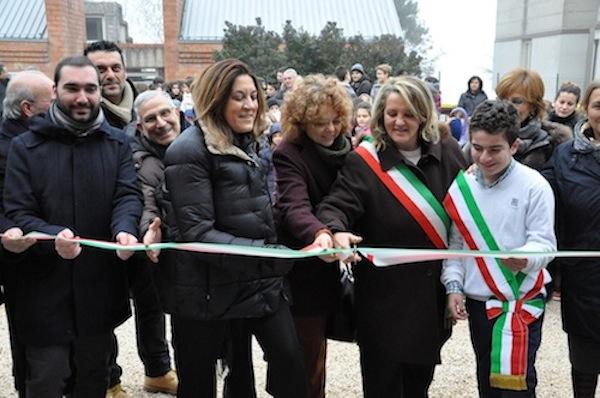 Inaugurazione scuola di San Venanzo