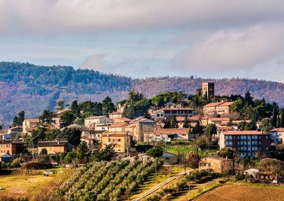 Veduta di San Venanzo