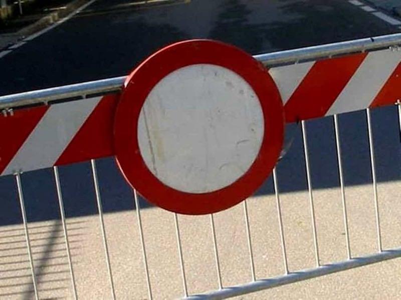 Chiusura al traffico e alla sosta della Strada Comunale di San Marino
