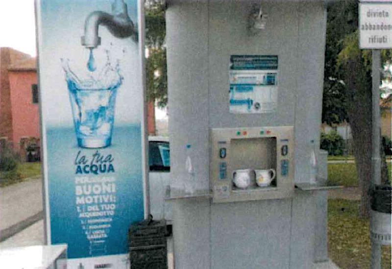 Erogazione idrica temporaneamente sospesa alla Casa dell'Acqua
