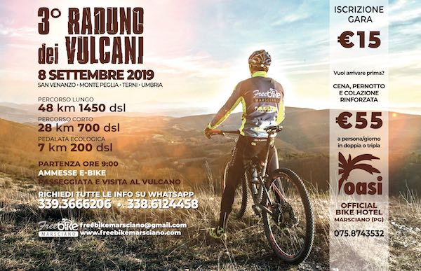 "Terzo ""Raduno dei Vulcani"" per Mountain Bike"