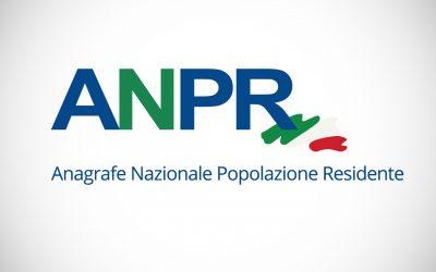 Anagrafe Nazionale della Popolazione Residente attiva dal 24 maggio 2021