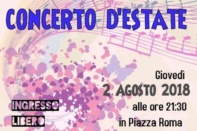Concerto d'Estate, sotto le stelle di Piazza Roma per la Banda Musicale