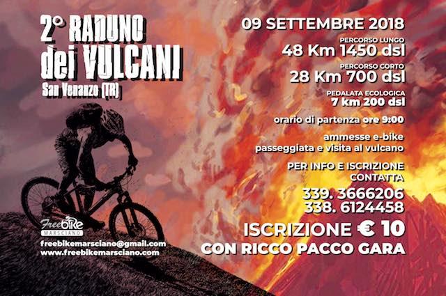 Torna il Raduno dei Vulcani, si inizia con la Passeggiata Ecologica