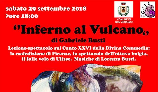 """""""Inferno al Vulcano"""". Lezione-spettacolo al Parco Museo Vulcanologico"""