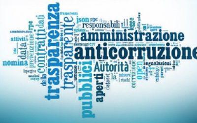 C'è l'Avviso per l'aggiornamento al Piano Anticorruzione 2019-2021