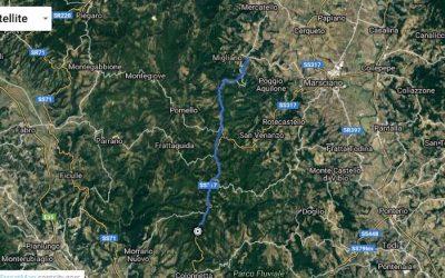 Riaperto un tratto chiuso dell'antica Via Orvietana